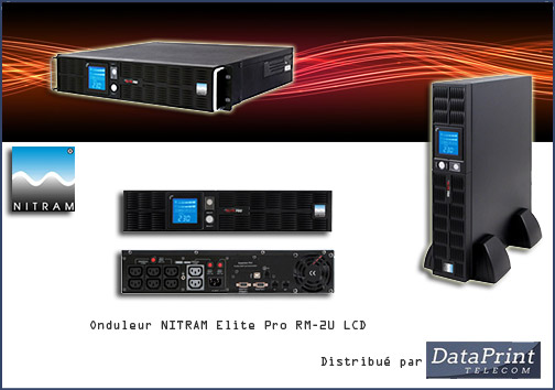 Onduleur NITRAM: gamme Elite Pro