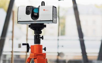 Escaner 3D para fabricas y aeropuertos