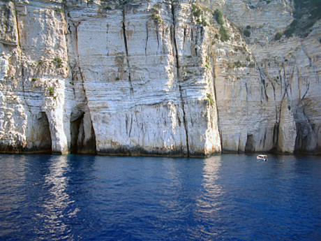 Paxos Photo Gallery: Paxos coastline