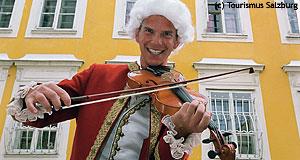 Wolfgang Amadeus Mozart  Salzburg