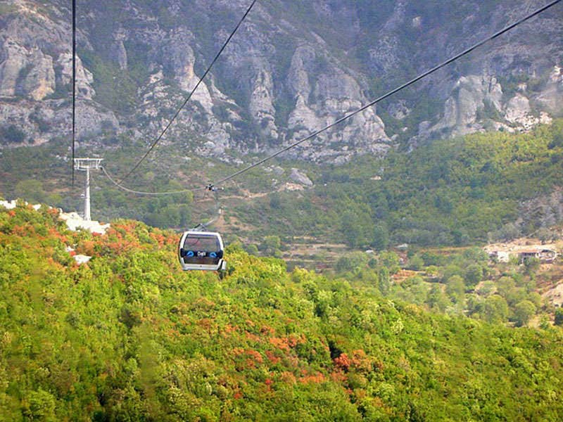 Image result for dajti cable car
