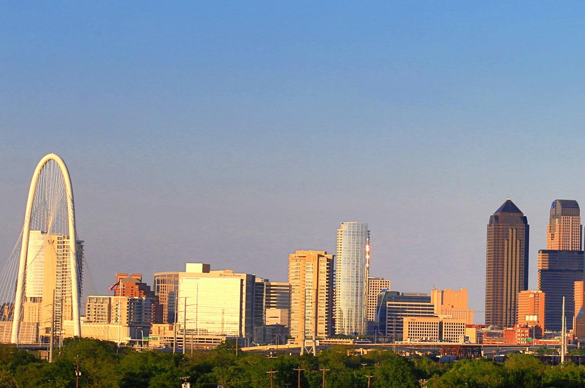 Dallas  Texas geheime Hauptstadt und neuntgrte Stadt der USA