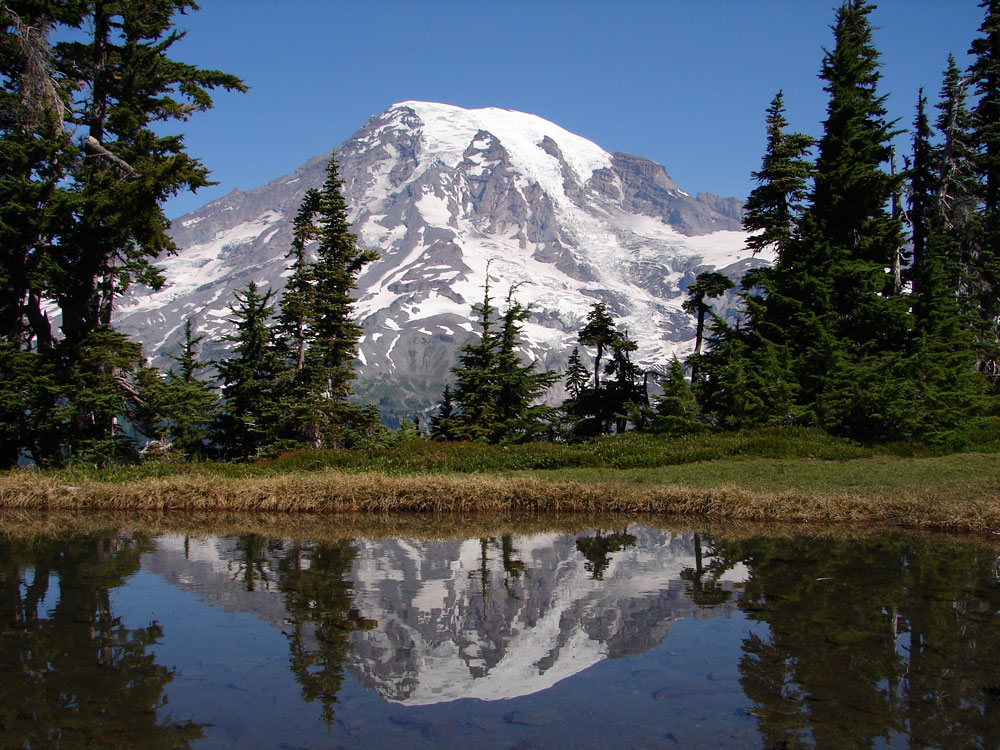 Free Multnoma Falls Winter Wallpaper Mount Rainier National Park Washington State Der Aktive