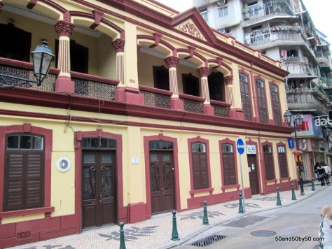 Portuguese architecture is a must see in any Macau day trip