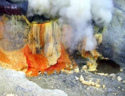 Sulfur mining at Kawah Ijen volcano | Java, Indonesia