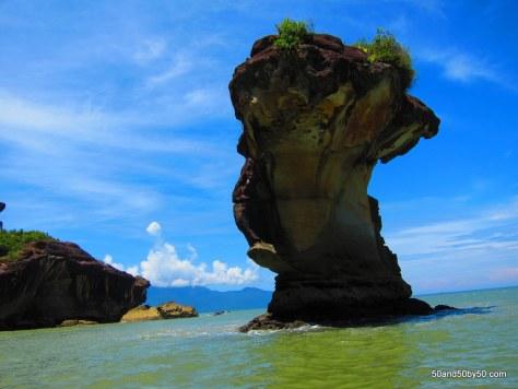 island in Bako Natonal Park in Borneo