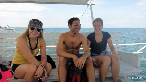 Whale Shark Snorkeling trip in the Philippines. Great crew!