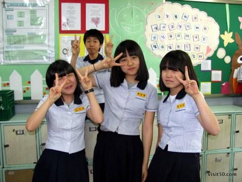 teaching english in South Korea - ESL classroom fun