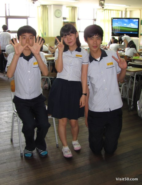 teaching english in South Korea - ESL students