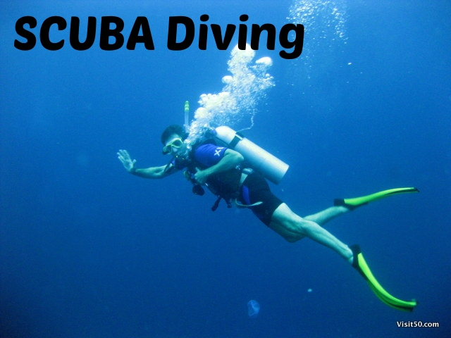 SCUBA Diving around the world