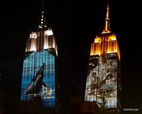 Whale on the Empire State Building