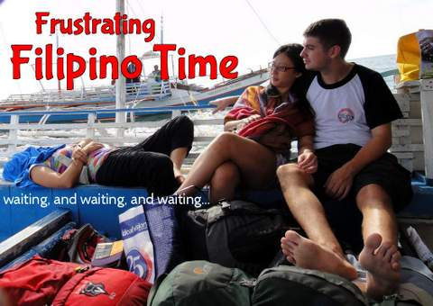 "Life runs on ""Filipino Time"" in the Philippines. I'll tell some travel fails"