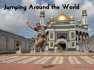 Jumping Around the World! I take jumping photos in every country I visit