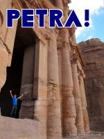 Petra in Jordan is incredible, one of the wonders of the world.