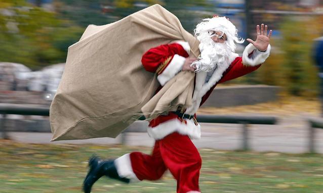 Scopri la collezione di foto di babbo natale in alta qualità. Christmas Sport Day A Galzignano Terme Thermae Abano Montegrotto