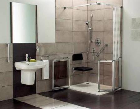 Comprar e instalar duchas para discapacitados y ancianos para el bao  VisitaCasascom