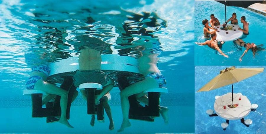 Accesorios para piscinas para fanticos del deporte