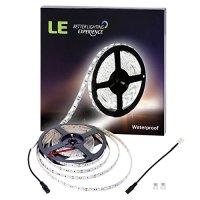 LE Tira LED Resistente al agua 5m 300 LED 5050, 720 lúmenes por metro, Blanco frío, 12V