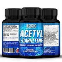 Acetil L Carnitina 500mg | Tabletas fuertes de acetil-carnitina | 120 potentes cápsulas de refuerzo energético | Dosis para 4 meses COMPLETOS | Mejora tu rendimiento deportivo | Desarrolla la función cognitiva | Seguras y efectivas | Las pastillas de L-carnitina más vendidas |