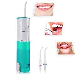 [Más vendido] Silaite flosser de agua dental portátil, irrigador oral, cuidado de la herramienta de higiene dental, carga inductiva – Cordless Freedom – irrigador oral impermeable recargable