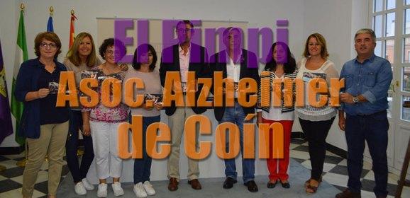 El Pimpi colabora con la Asoc. de Alzheimer de Coín