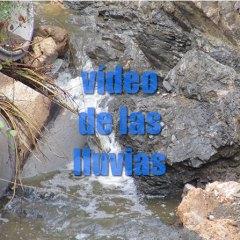 Vídeo de lluvia en Coín en el arroyo de la Ermita
