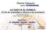 Charla Coloquio Urbanismo