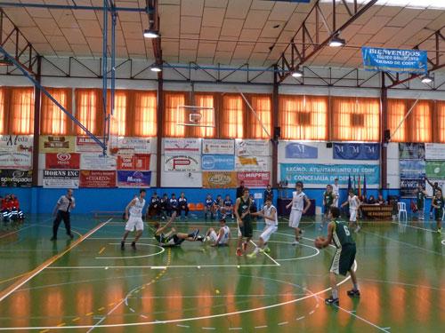 Final del torneo Ciudad de Coin de baloncesto 2012