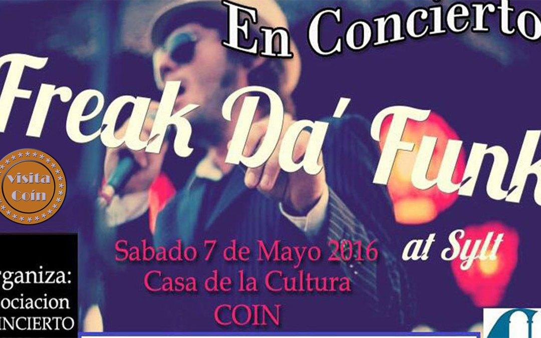 Vuelve el Coincierto, próxima actuación: Freak Da'Funk