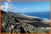 Mirador de los Canarios, vistas de la playa de Cofete. Fuerteventura.