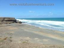 Playa De Garcey En Fuerteventura. Guia Playas