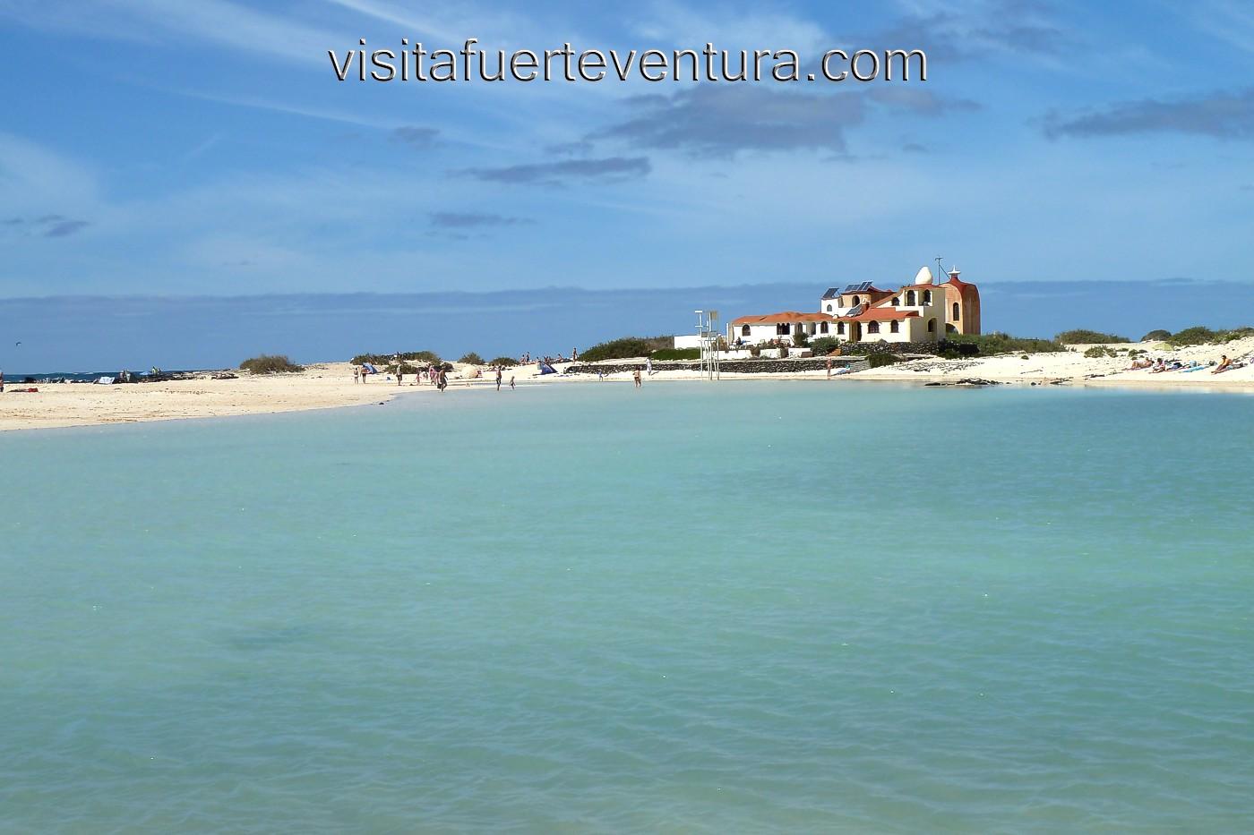 La Concha Strand El Cotillo  Fuerteventura