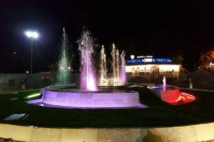 A Gaeta le fontane artistiche in piazza