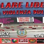 """Violenza sulle donne, il flash mob """"Volare Libere"""""""