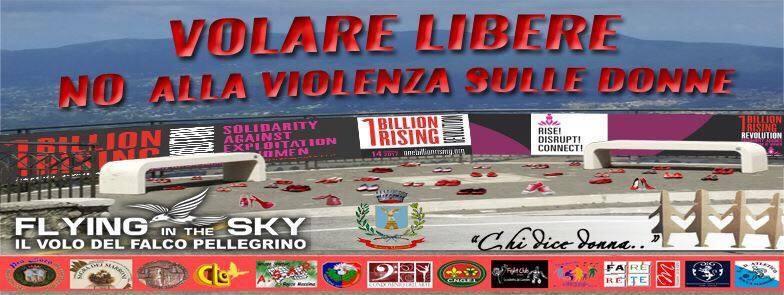 Volare Libere – No alla violenza sulle donne – Rocca Massima