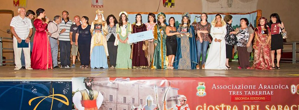 """Concorso per il miglior abito medievale femminile per """"La Giostra del Saraceno"""""""