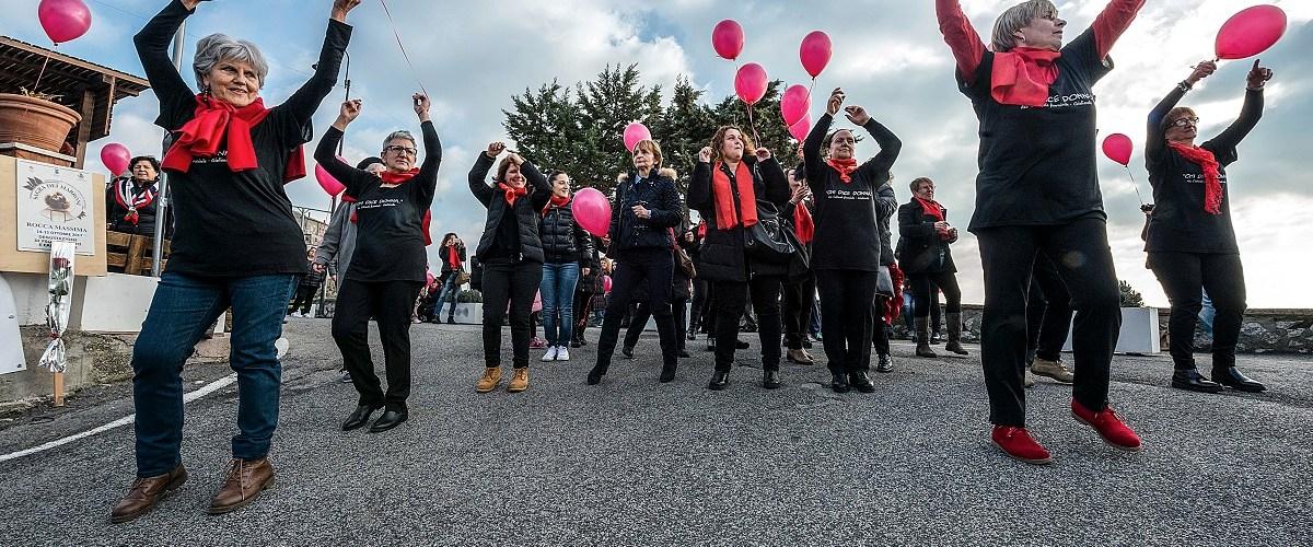 """No alla violenza sulle donne, successo per """"volare libere"""""""