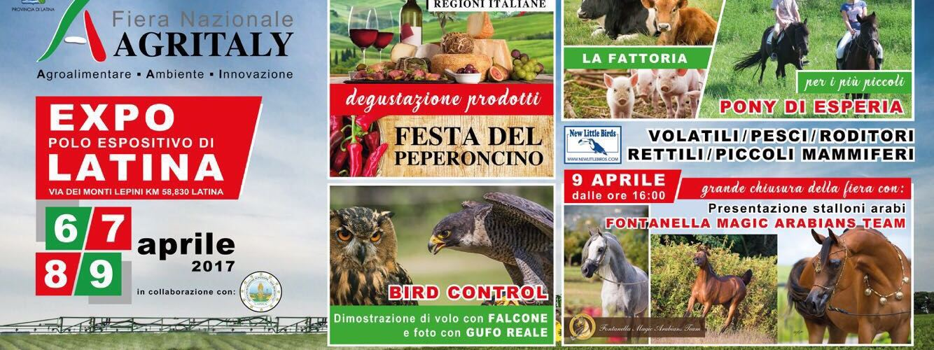 Agritaly, al via la fiera dell'agricoltura al polo fieristico di Latina