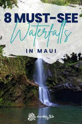 The best waterfalls on Maui to visit. An ultimate travel guide.
