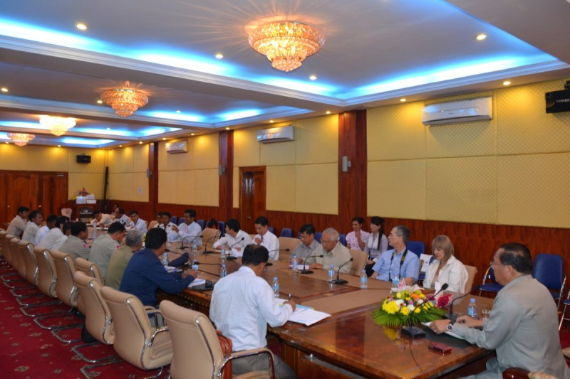 Banteay Chhmar CBT tour guide meeting