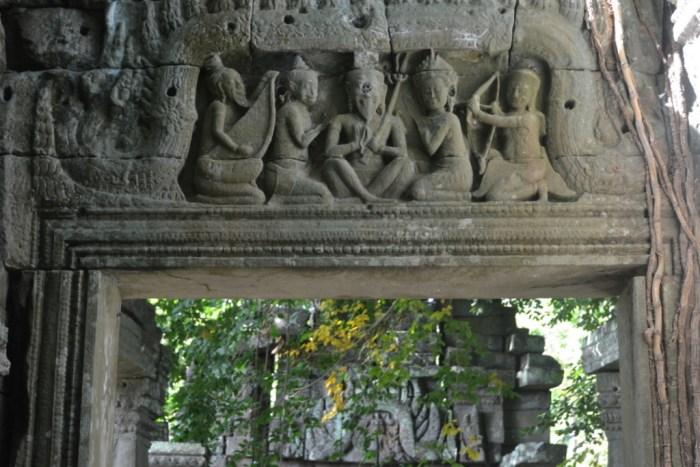 Temple lintels