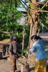 Flattening the rice
