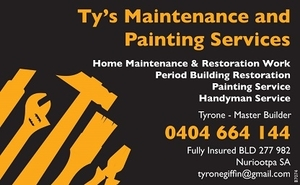 Ty's Maintenance and Painting Services