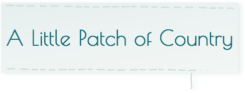 a little patch of country logo - A Little Patch of Country