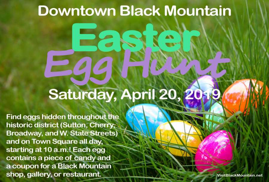 Downtown Black Mountain Easter Egg Hunt