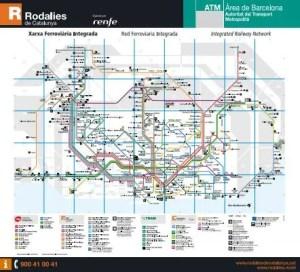 PDF map trains catalonia