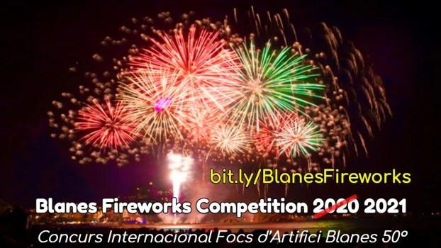 Blanes fireworks competition postponed until July 2021