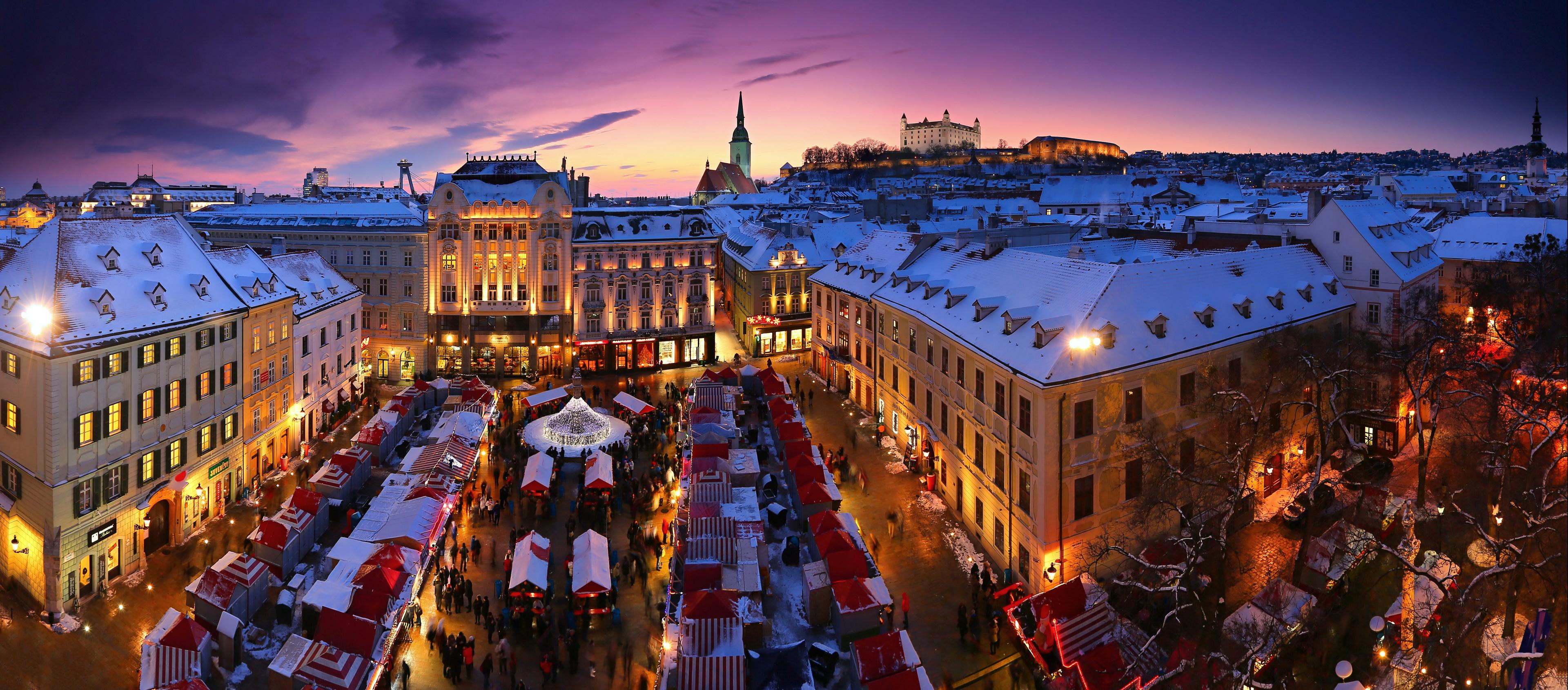 Top 10 Christmas Experiences Visit Bratislava
