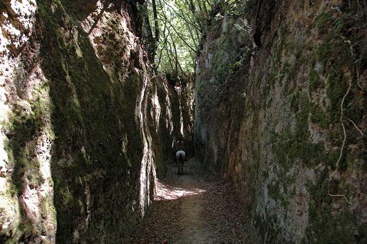 Trekking-a-Cavallo-Etruschi-Visit-Castell'Azzara