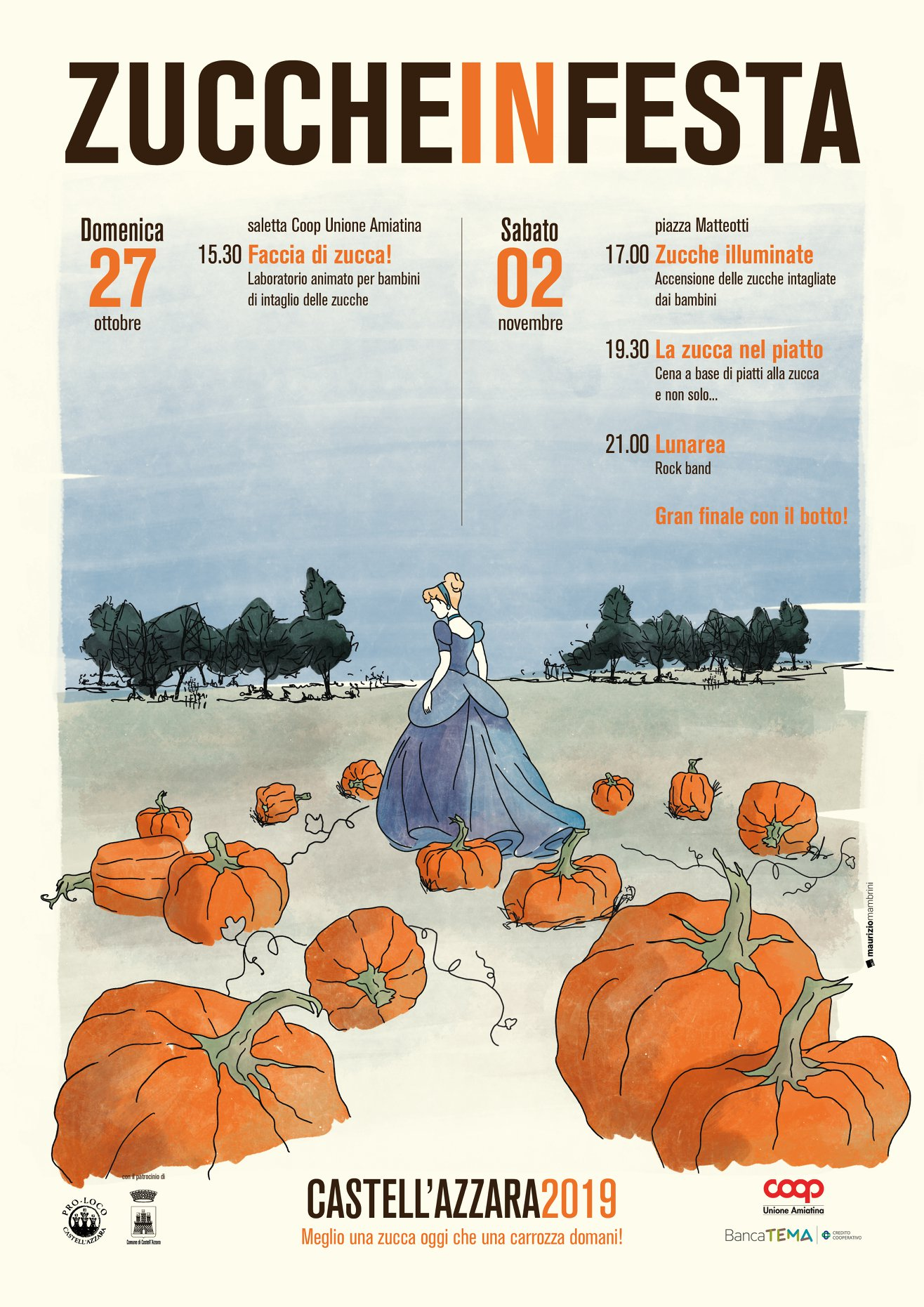 Zucche in Festa-27 Ottobre e 2 Novembre